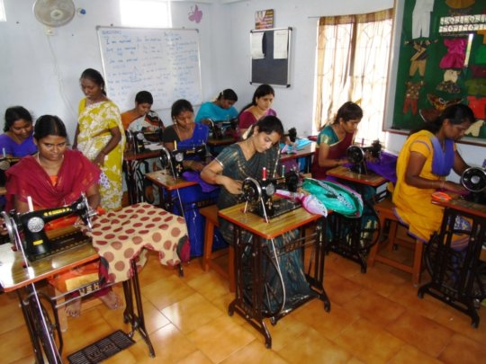 Life Skills for School Dropout RuralGirls in India