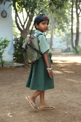 Feed & Send 25 Orphan Girls to School in India