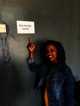 EDJA's founder Tabitha Mpamira-Kaguri