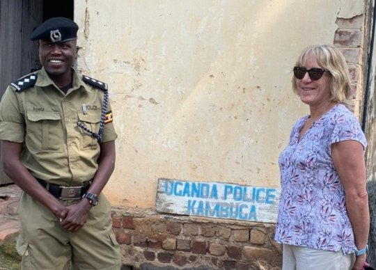 Trainers met with police to share forensic tips
