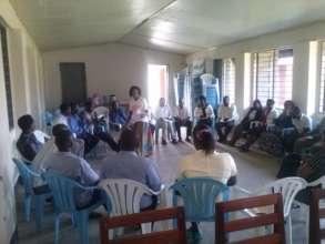 Training community stakeholders
