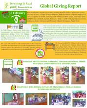 Educate 270 Children in Northern Nigeria Update (PDF)