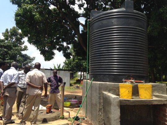 An EPAfrica water project in progress