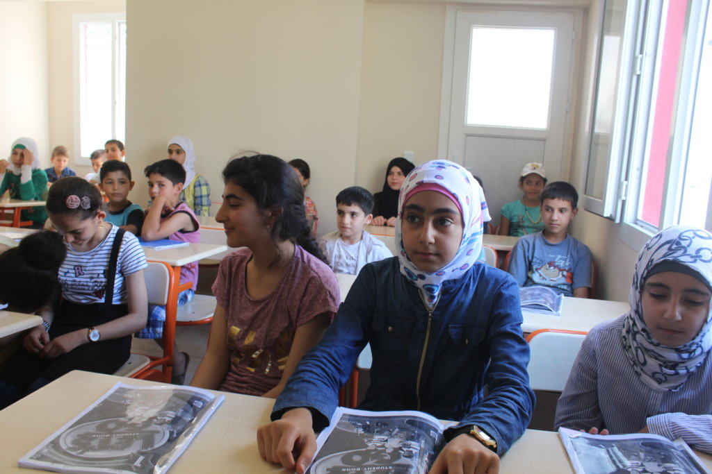 Help Syrian Refugee Children Stay in School