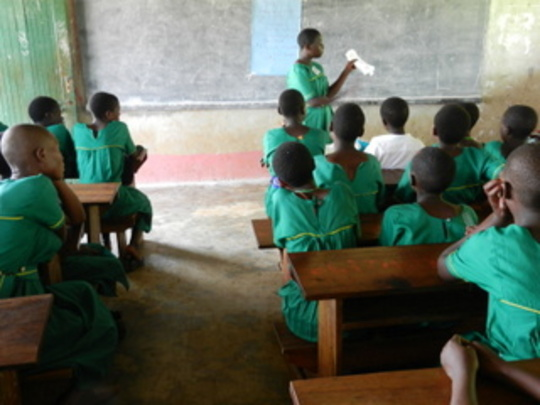 Kiko Primary School and Sanitary Pads