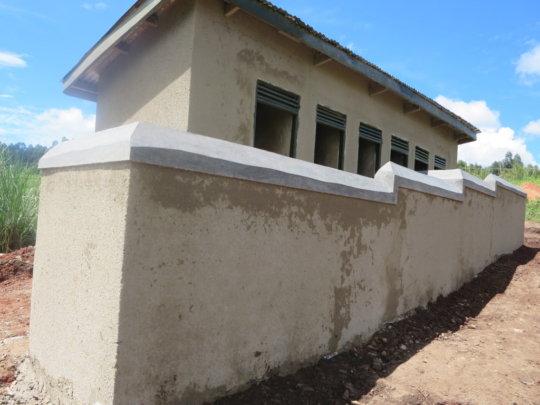 New latrines