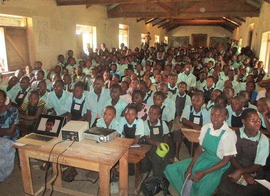 Girl Rising Film at Rweterra School