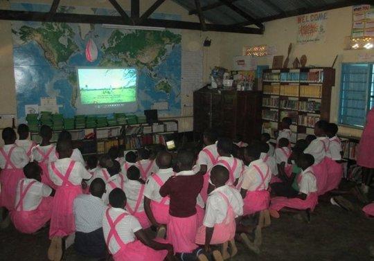 Girl Rising Film at Kigarama School