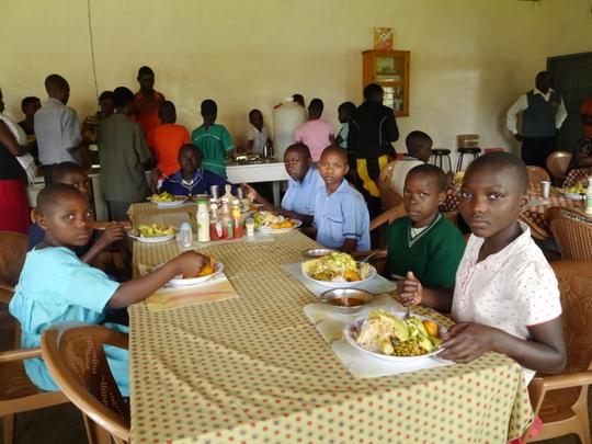 Meal at Peer Education Workshop