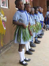 Kasiisi Nursery School for young girls and boys