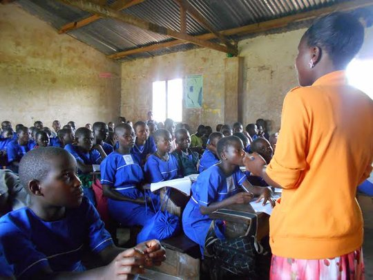 Classroom Time on Sanitary Health Concerns