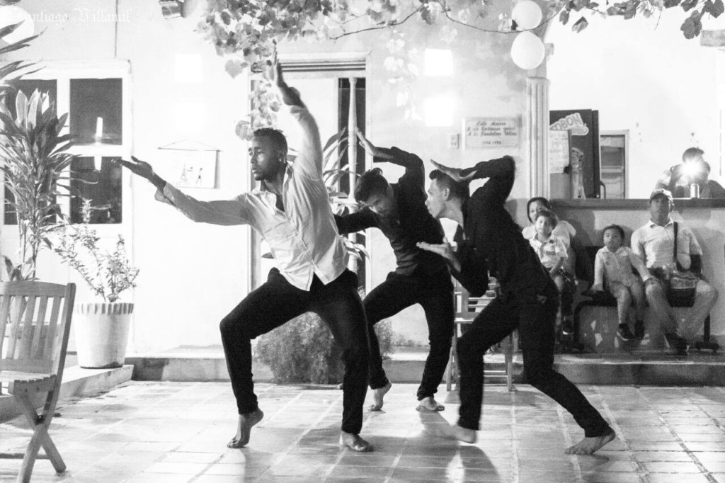 The dancers...& Pacho