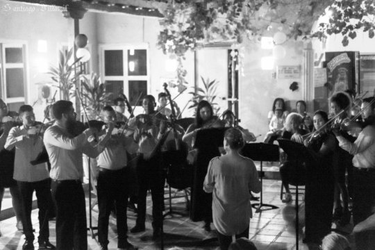 The chamber orchestra of Cartagena