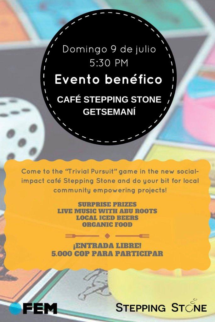 #funwithapurpose Trivial Pursuit Cafe Invitation