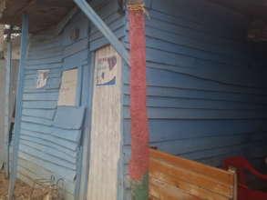 Facade of Pacho's actual house