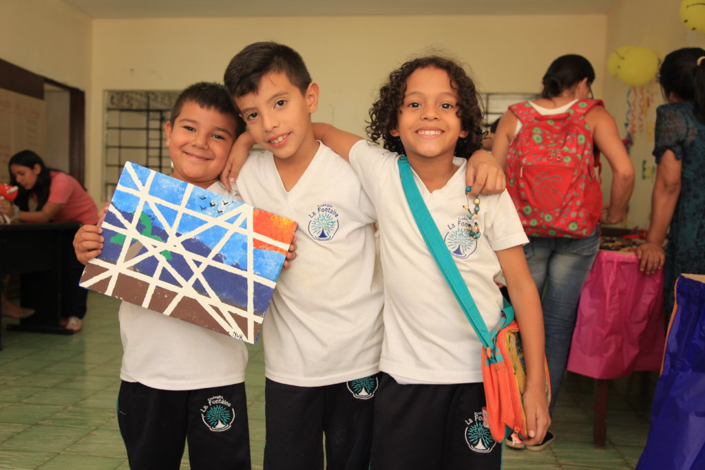 Educate children in Colombia