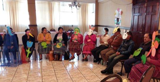 ArtCorps workshop participants