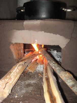 Fuel-Efficient Wood Burning Stove