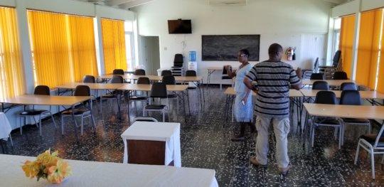 Preparing for classroom instruction.