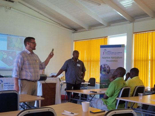 Classroom training for RADA extension agents