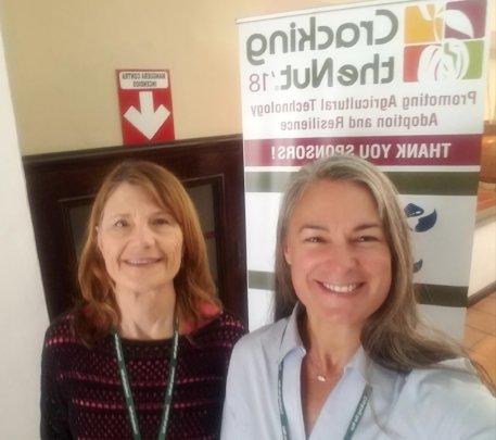 INMED's Dr. Linda Pfeiffer & Kristin Callahan