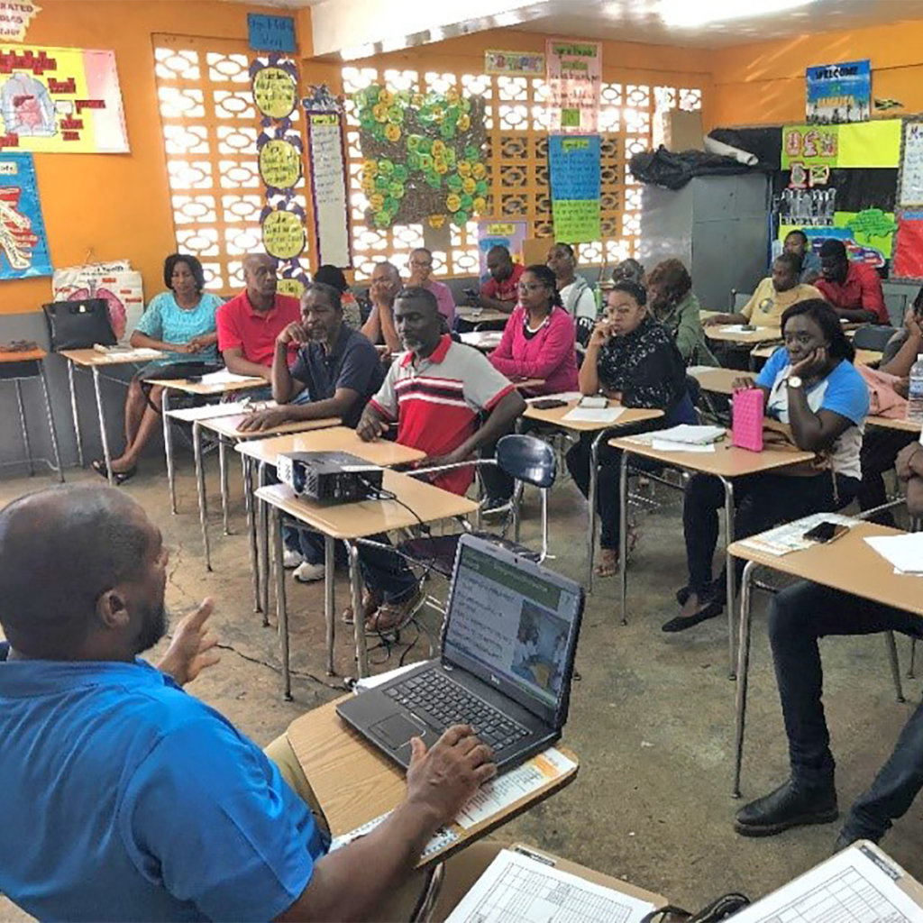 INMED Caribbean leads first workshops in Clarendon