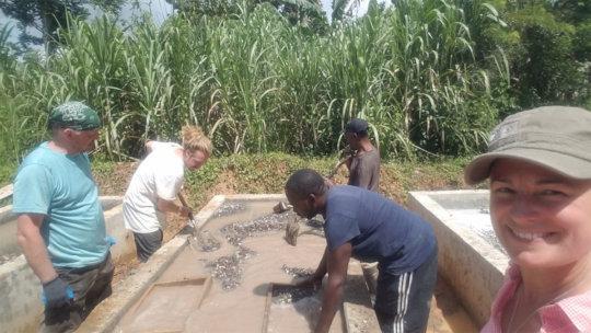 James Hill farmers prepare their grow beds