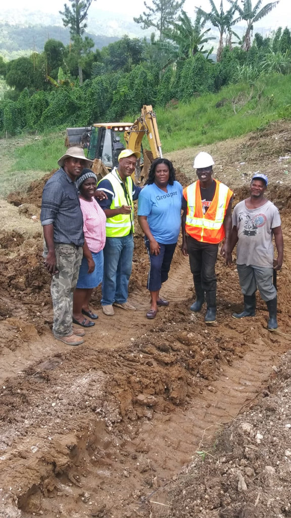 Clarendon farmers break ground
