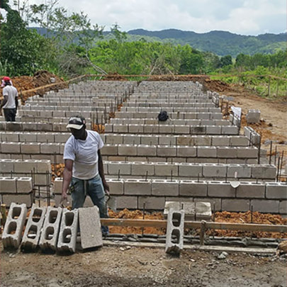 Clarendon farmers build first aquaponics system