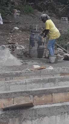 Grow beds under constructiton