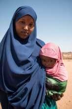 Hodan and her daughter