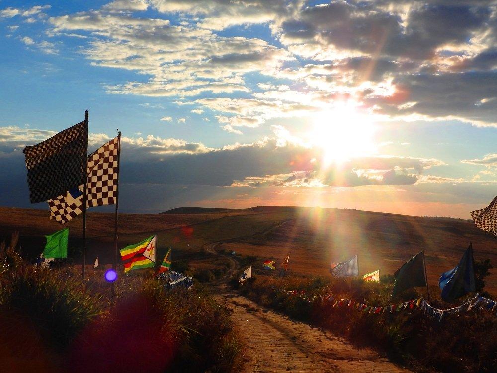 Sun Set on 500km Blue Cross www.SPCA-Mutare.com