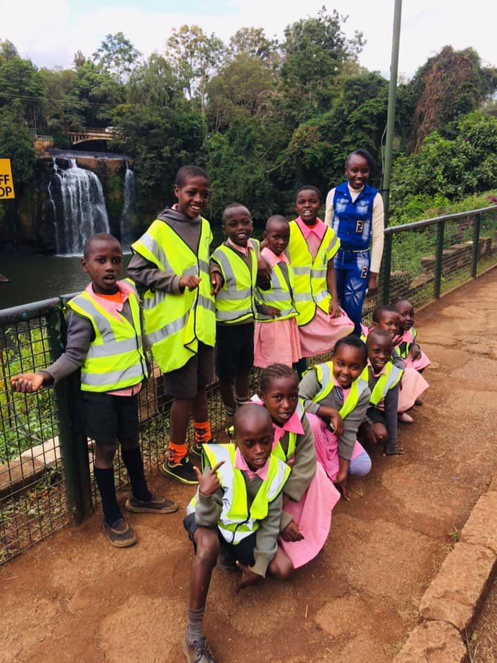 Class 2 at the Waterfalls