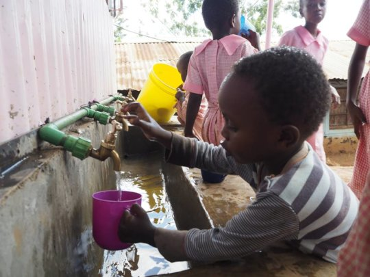 Plentiful supply of clean water