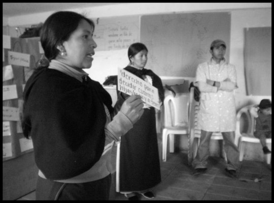 Building a women's shelter in Cotacachi, Ecuador