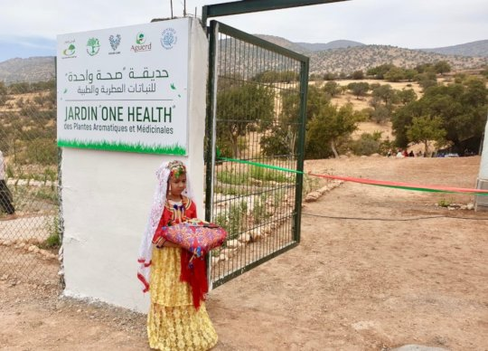 Opening ceremony of the first One Health Garden