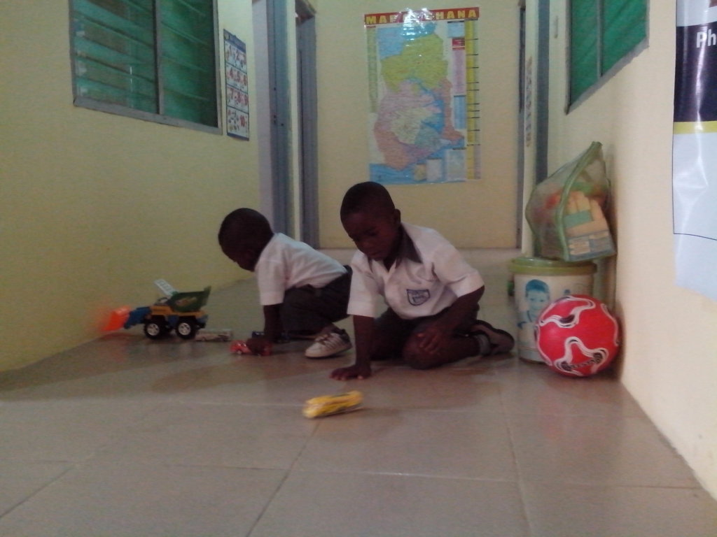 Help Family Learning Centre at Gbawe in Ghana open
