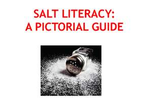 A pictoral guide regarding salt & its ill effects (PDF)