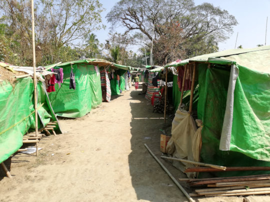 Inside the IDP camps