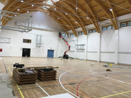 Gym internal view 2020 October