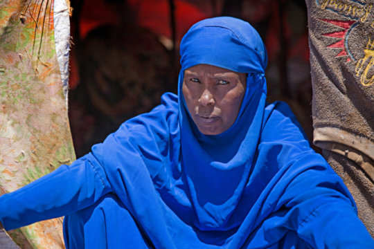 Hani, mother of 7, receives aid from Concern