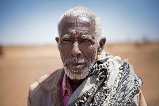 Ibraahin in Somalia. Photo: Kieran McConville.
