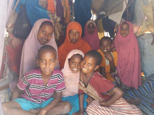 Jamilah* and her children