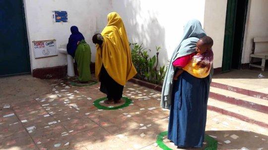Social distancing, Somalia (Concern Worldwide)