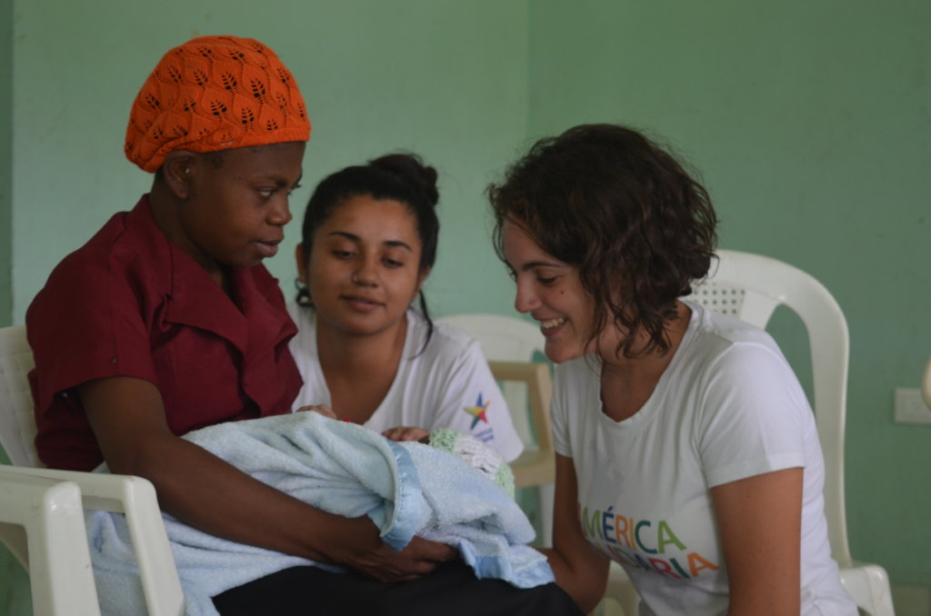Care for moms to be and newborns in Haiti
