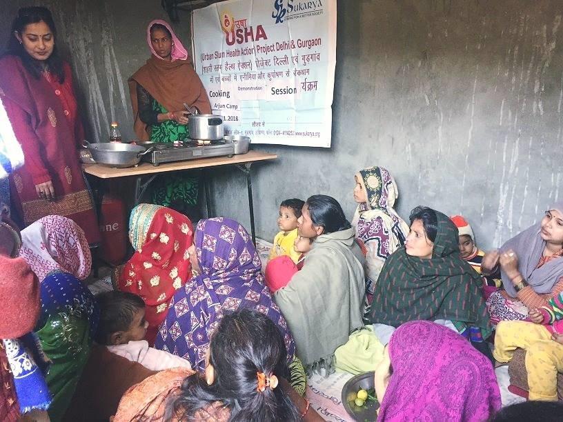 Urban Slum Health Action (USHA) Project