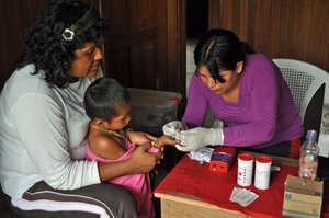 Monitoring Health Advances in Tayakome.