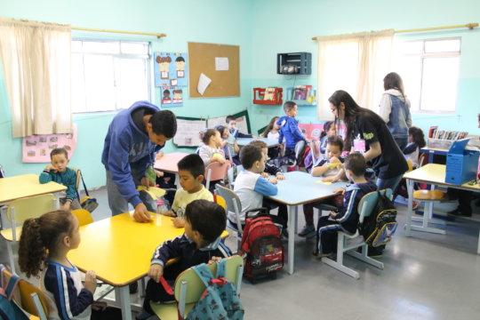 Working with children in school