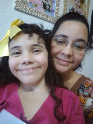 Mariana with Mother Aline