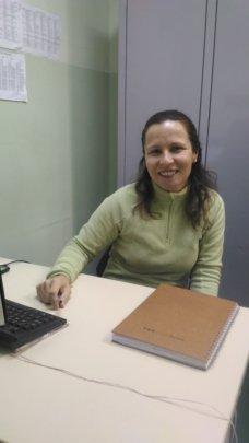 Raquel the school pedagogical coordinator